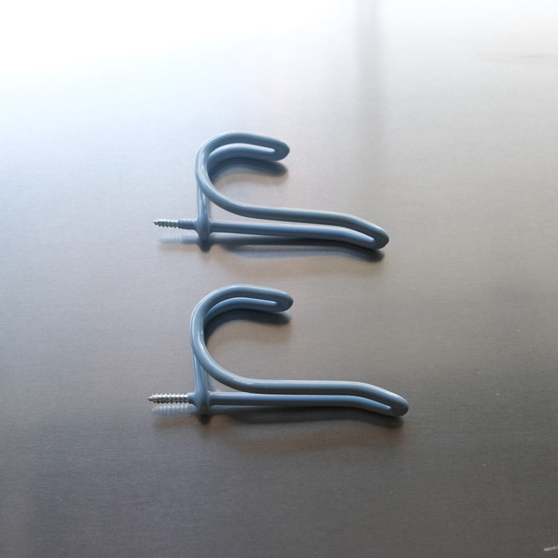 SCREW IN COAT & HAT HOOKS