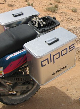ALPOS MOTO WATERPROOF TRUNK 36L