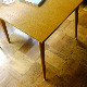 SQUARE TABLE  S /  Lightbrown