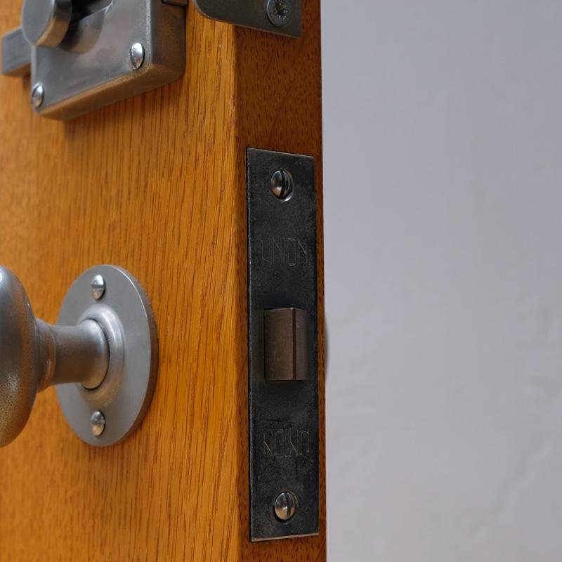 OVAL DOOR KNOB - Pearl Nickel Plated (Solid)