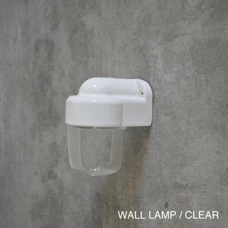 THPG Lindner PORCELAIN LAMP WALL LAMP / CLEAR