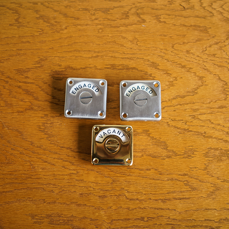 INDICATOR BOLT - Pearl Nickel Plated (Solid)