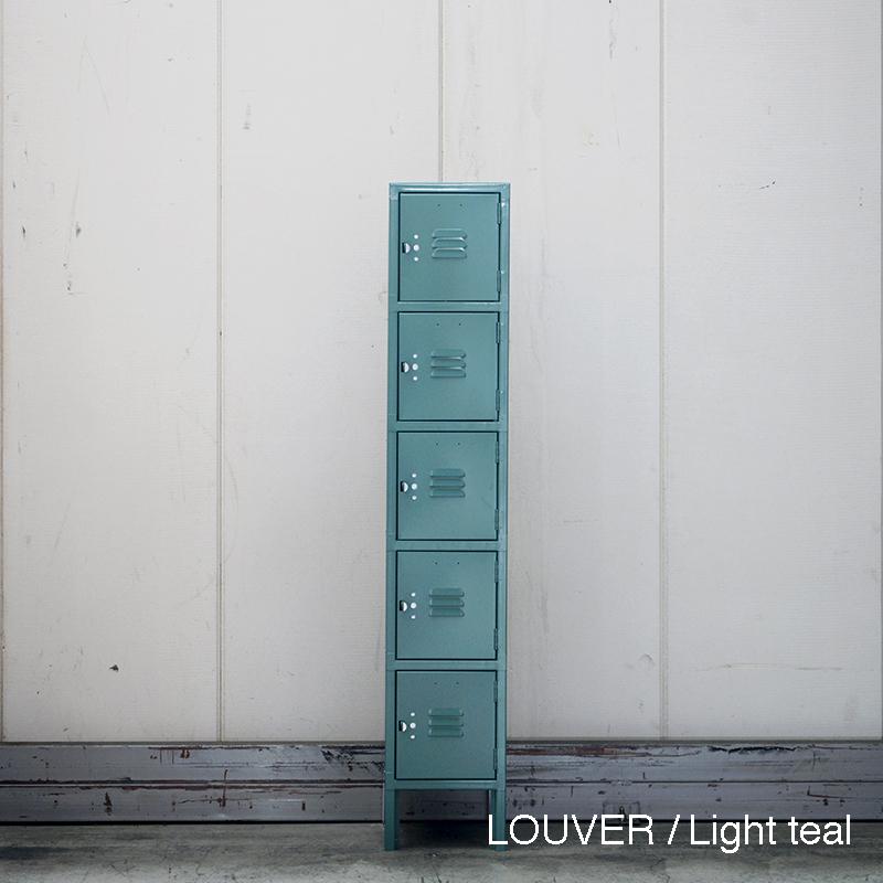 LYON 5-TIER LOCKER - LOUVER