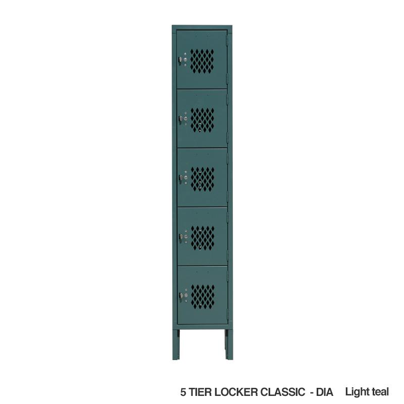 LYON 5-TIER LOCKER DIA - CLASSIC TYPE
