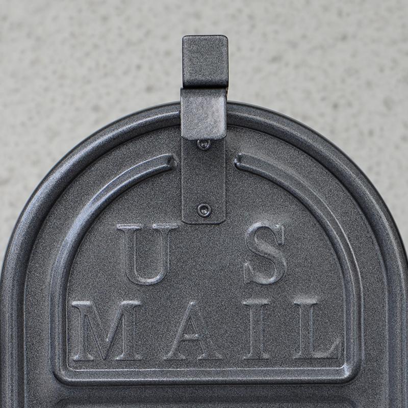 RURAL MAIL BOX - GUN METAL