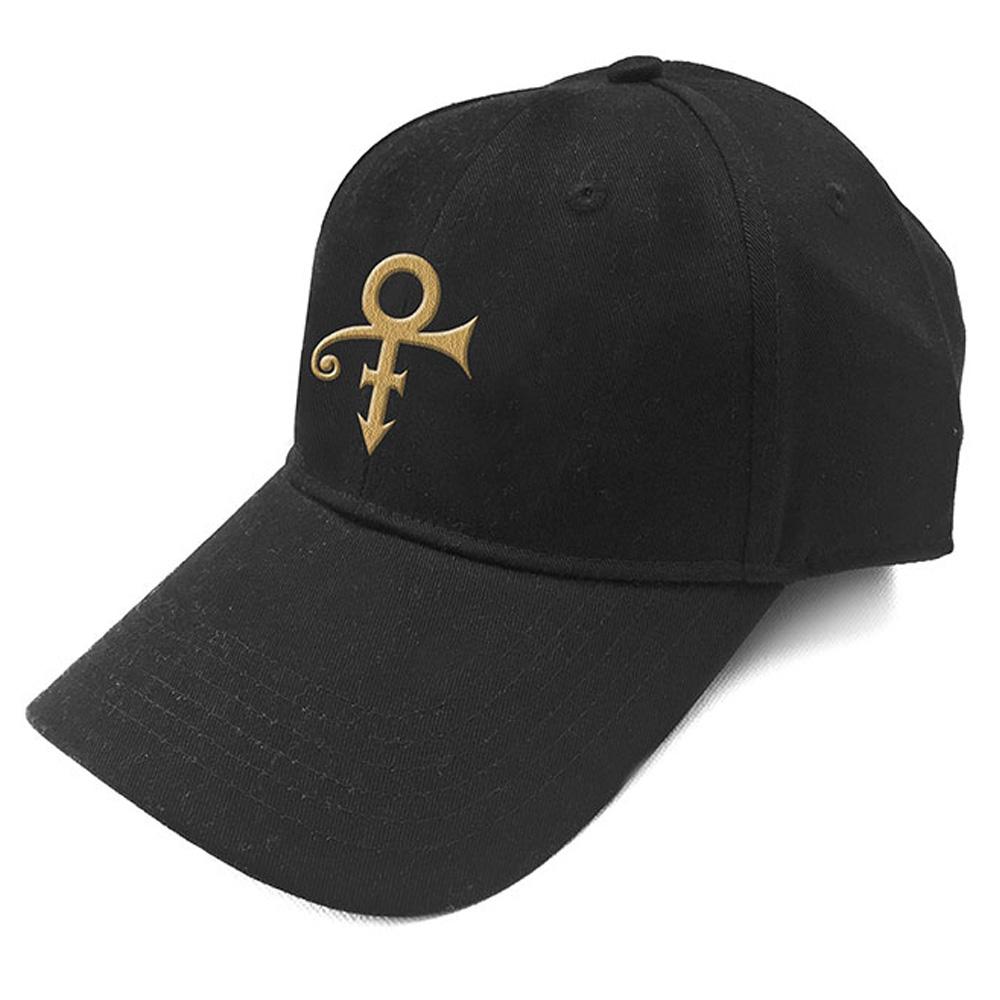 PRINCE プリンス (初来日35周年 ) - Gold Symbol / バックプリントあり / キャップ / メンズ 【公式 / オフィシャル】