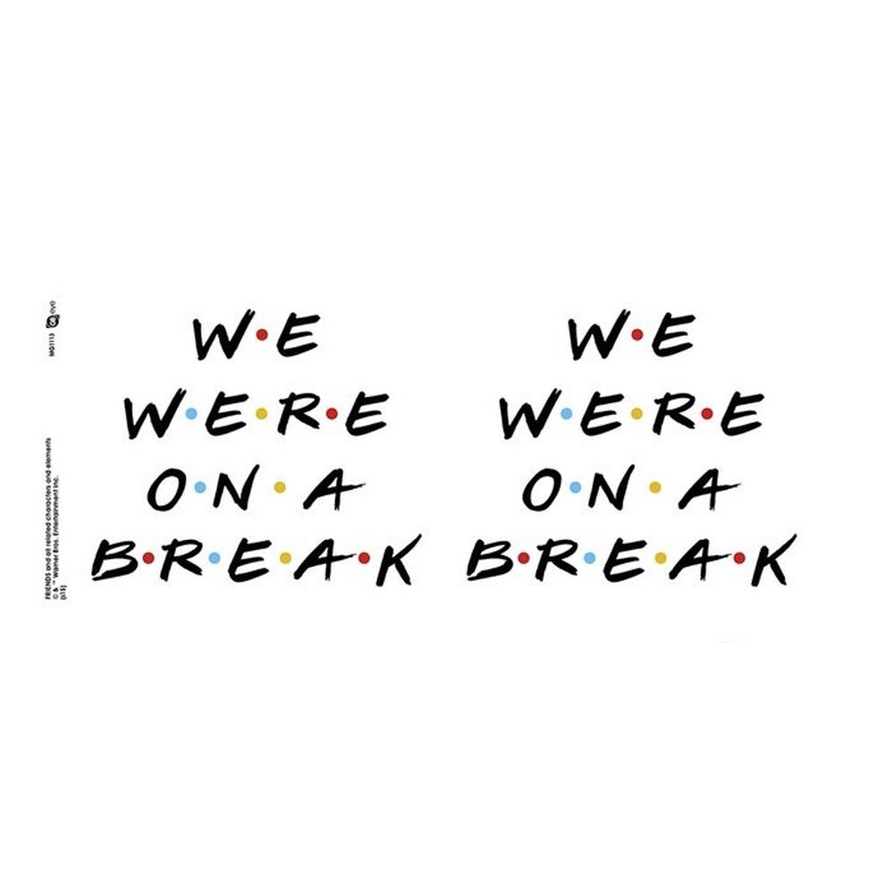 FRIENDS フレンズ - We were on a break / マグカップ 【公式 / オフィシャル】