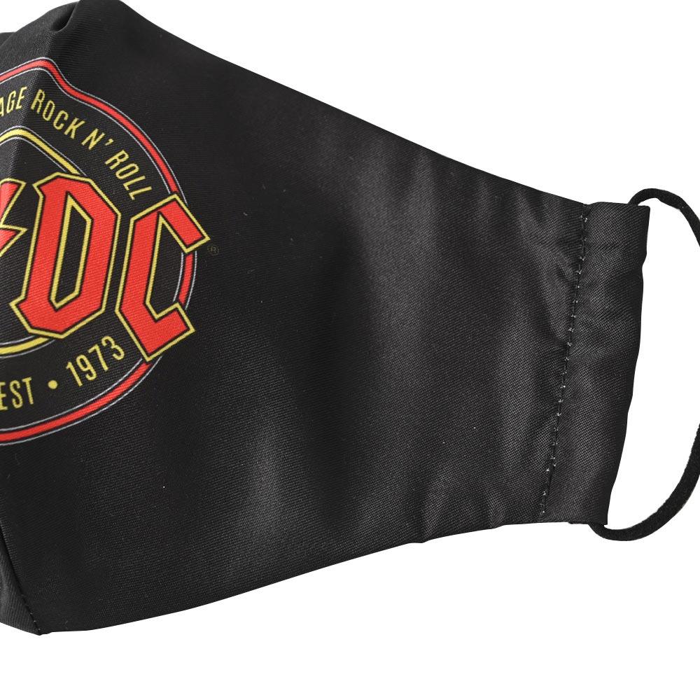 AC/DC エーシーディーシー (初来日40周年 ) - Est. 1973 / ファッション・マスク 【公式 / オフィシャル】