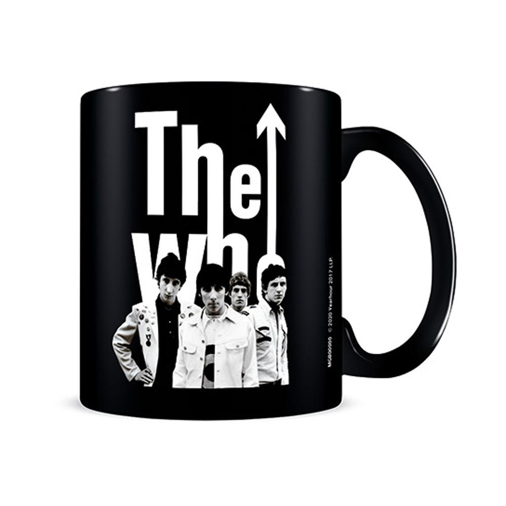 WHO ザ・フー (デビュー55周年記念 ) - 1964 Band Black / マグカップ 【公式 / オフィシャル】