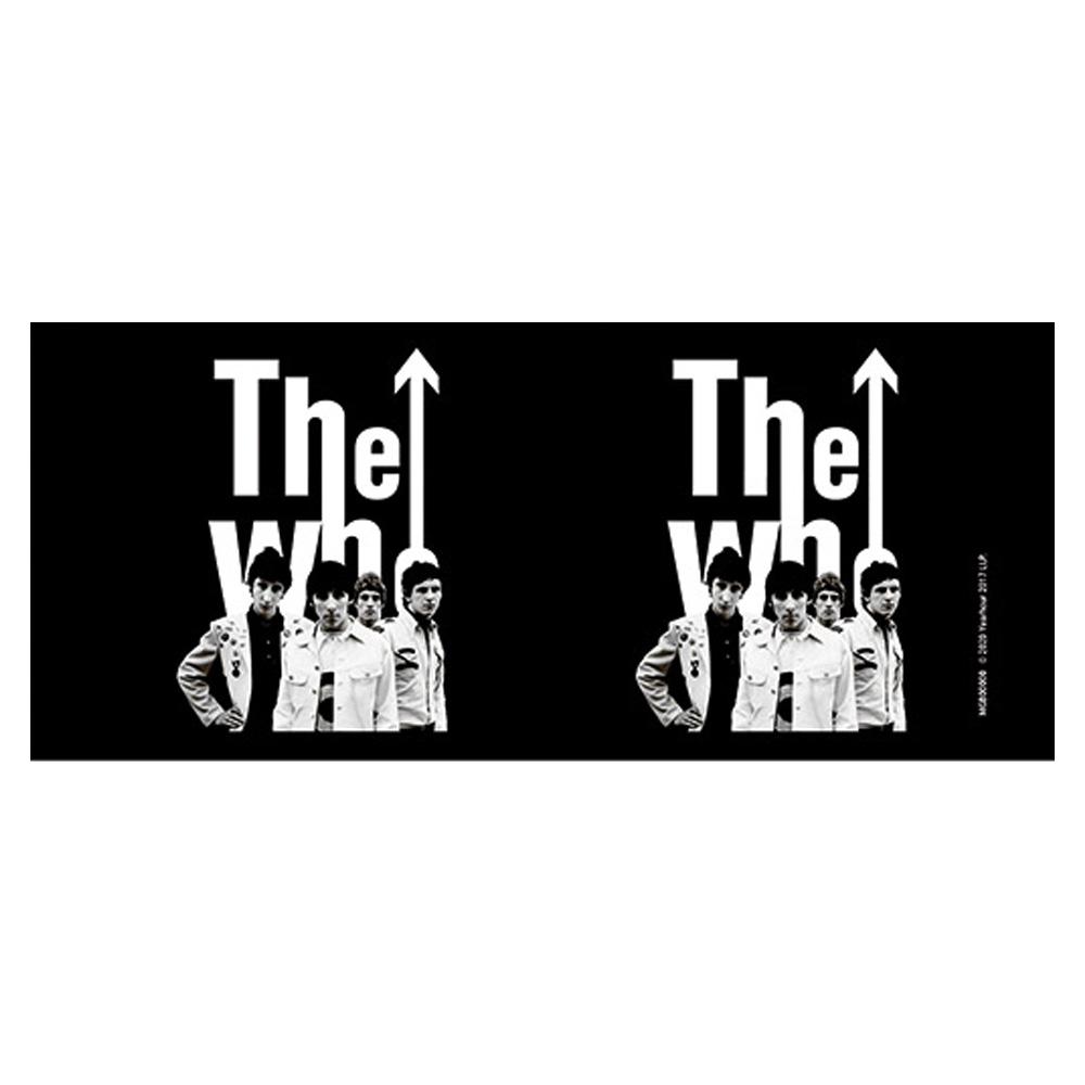 WHO ザ・フー - 1964 Band Black / マグカップ 【公式 / オフィシャル】