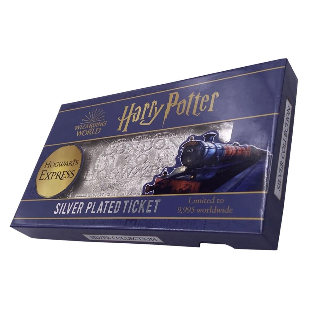 【予約商品】 HARRY POTTER ハリーポッター (映画公開20周年 ) - Hogwarts Express train ticket limited edition replica / 世界限定9995枚 / インテリア置物 【公式 / オフィシャル】
