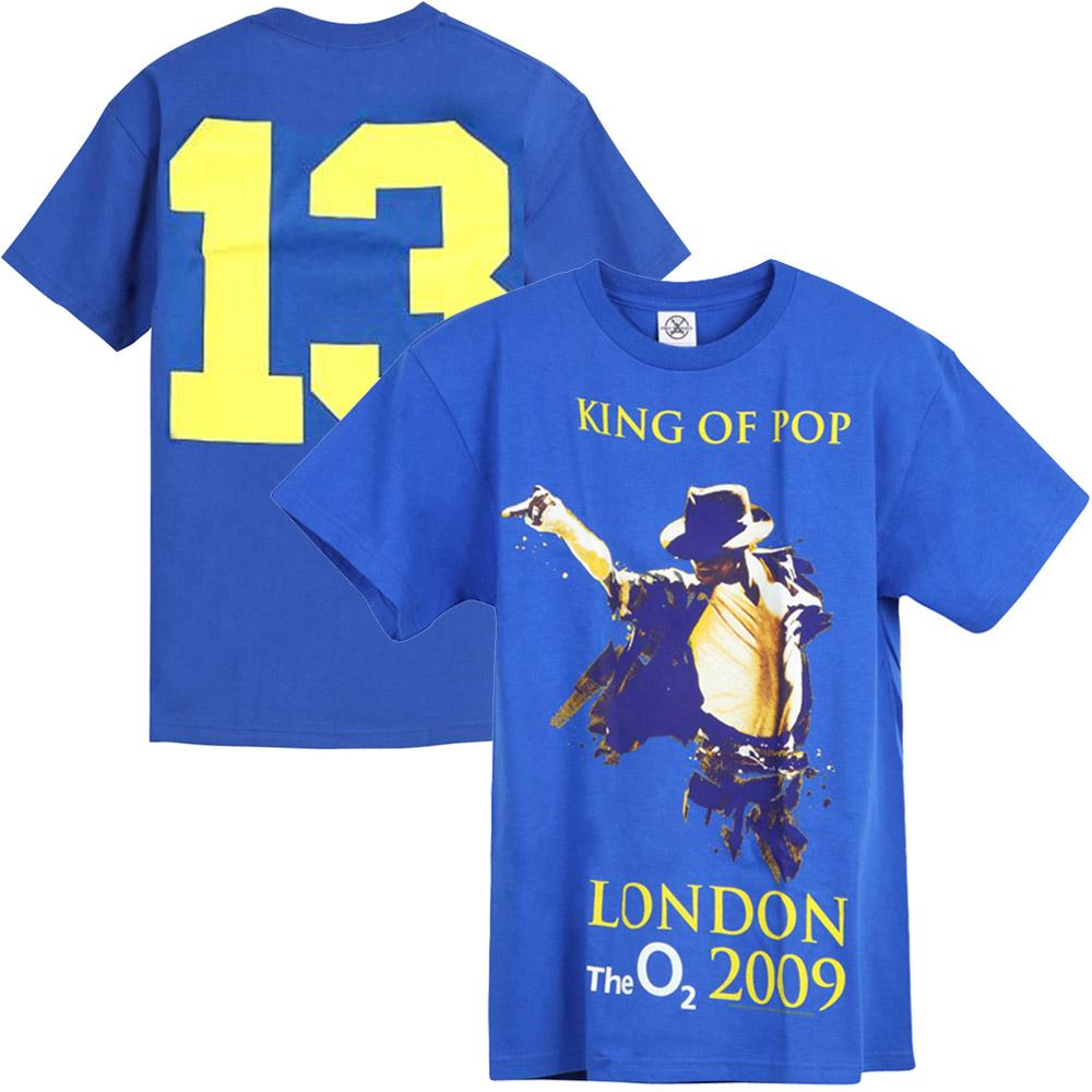 MICHAEL JACKSON マイケルジャクソン - 幻のロンドン公演13日目オリジナル限定Tシャツ / バックプリントあり / Tシャツ / メンズ 【公式 / オフィシャル】