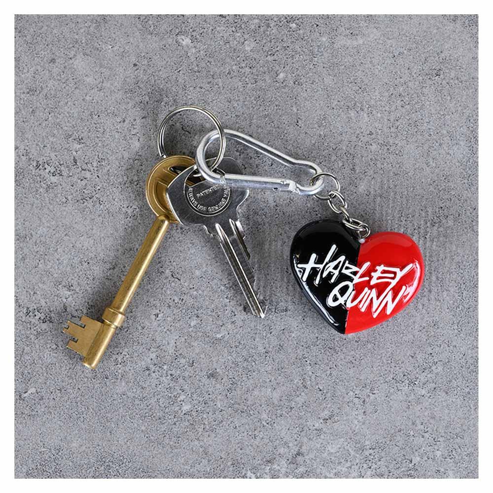 HARLEY QUINN DCコミックス - Heart/ 3D / キーホルダー 【公式 / オフィシャル】