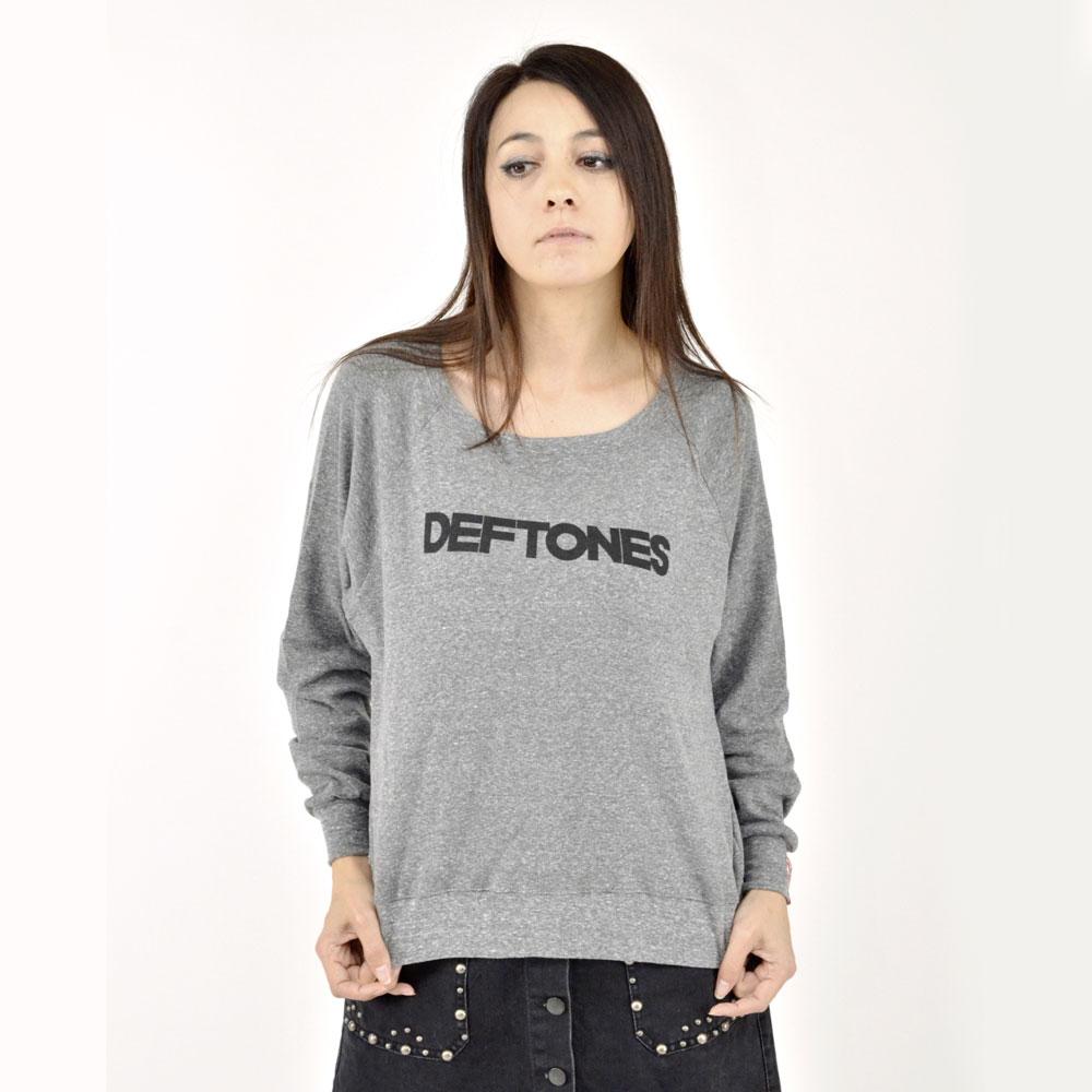 DEFTONES デフトーンズ - Text Logo / スウェット・パーカー / レディース 【公式 / オフィシャル】
