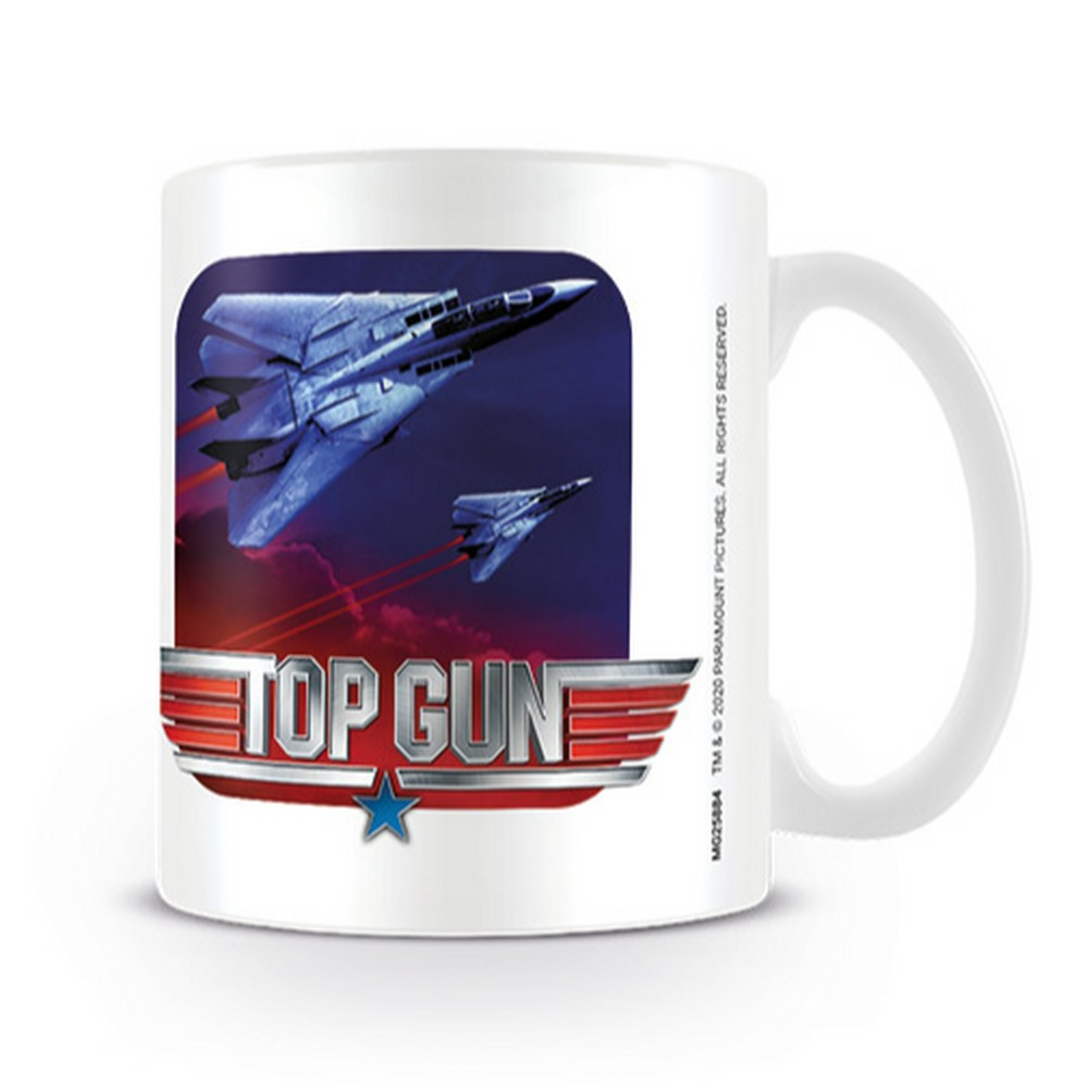 TOP GUN トップガン (日本初公開35周年 ) - Fighter Jets / マグカップ 【公式 / オフィシャル】
