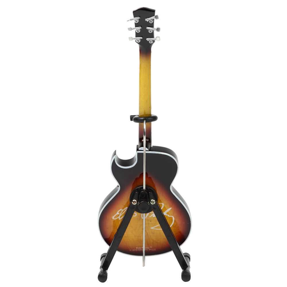 ELVIS PRESLEY エルヴィスプレスリー (RCAデビュー65周年記念 ) - 68' Special Hollow Body / ミニチュア楽器 【公式 / オフィシャル】