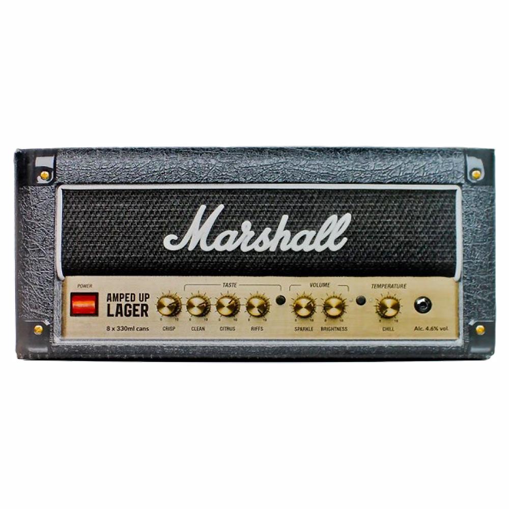 MARSHALL(ブランド) マーシャル - ロックンロールクラフトビール / 8本入りBOX(アンプヘッド) / ビール