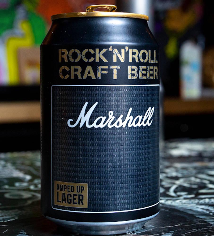 【予約商品】 MARSHALL マーシャル - ロックンロールクラフトビール / 8本入りBOX(アンプヘッド) / ビール