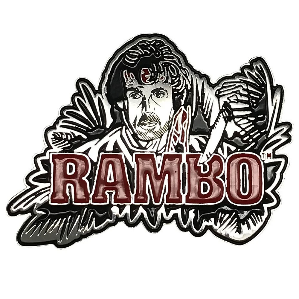 RAMBO ランボー - Limited Edition Pin Badge / 世界限定9995個 / バッジ 【公式 / オフィシャル】