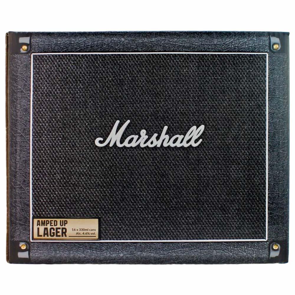 【予約商品】 MARSHALL マーシャル - ロックンロールクラフトビール / 16本入りBOX(キャビネット) / ビール