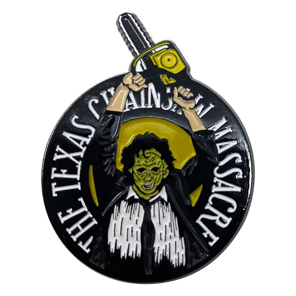 TEXAS CHAINSAW MASSACRE 悪魔のいけにえ (映画公開45周年記念 ) - Limited Edition Pin Badge / 世界限定9995個 / バッジ 【公式 / オフィシャル】