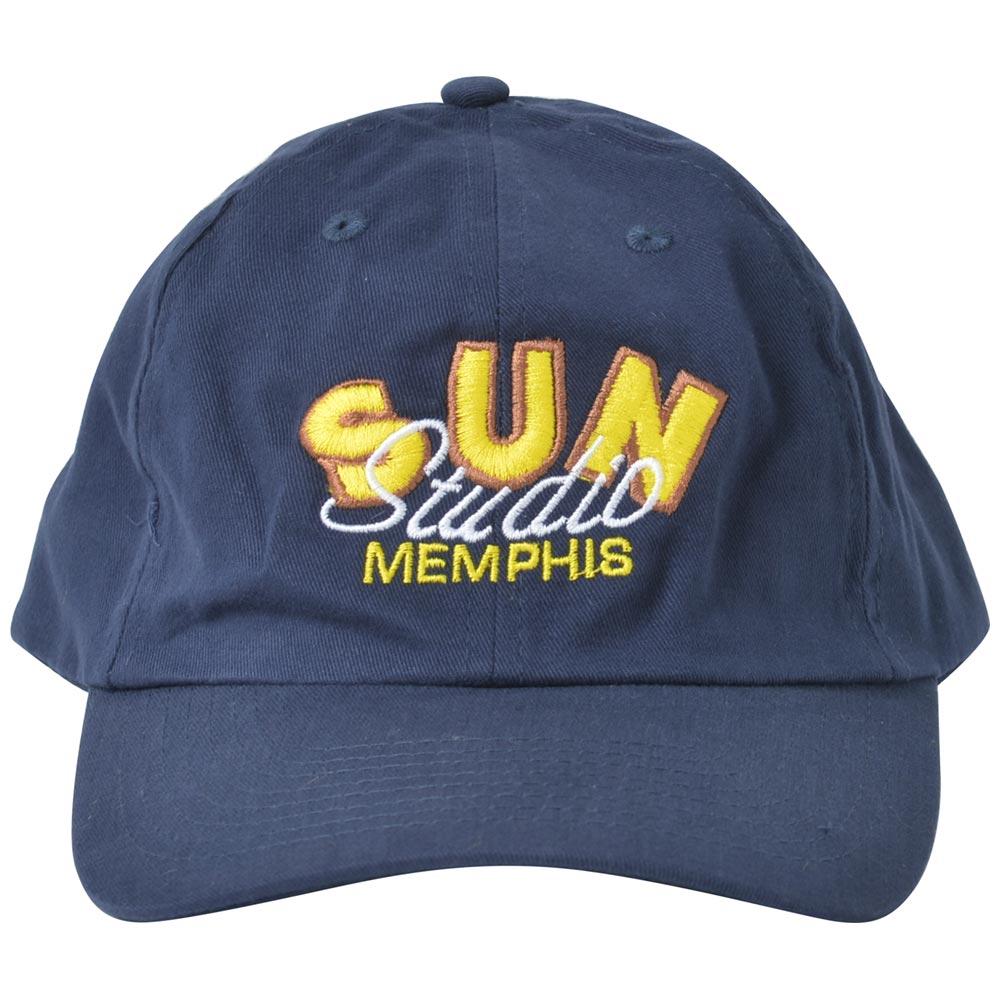 SUN STUDIO サンスタジオ - SUN SCRIPT NAVY / キャップ / メンズ 【公式 / オフィシャル】