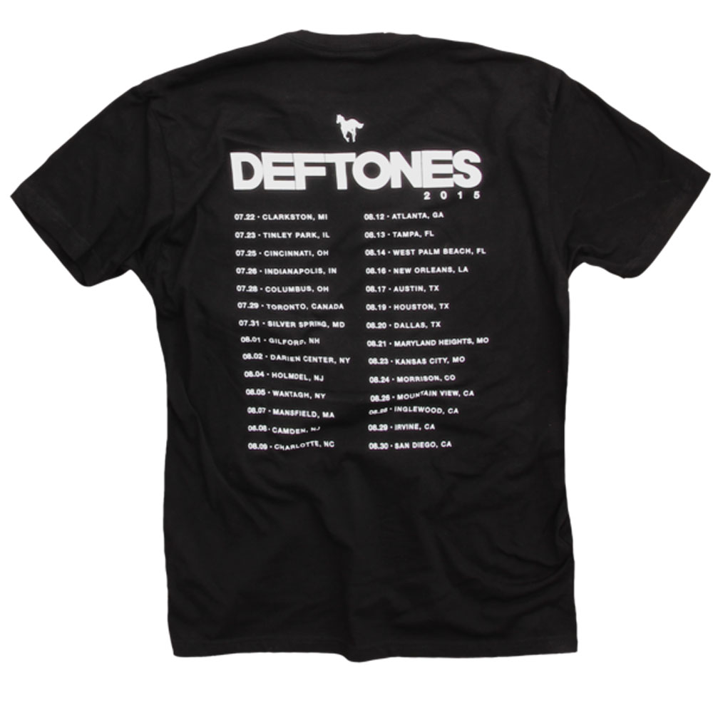 DEFTONES デフトーンズ - California 2015 Tour / バックプリントあり / Tシャツ / メンズ 【公式 / オフィシャル】