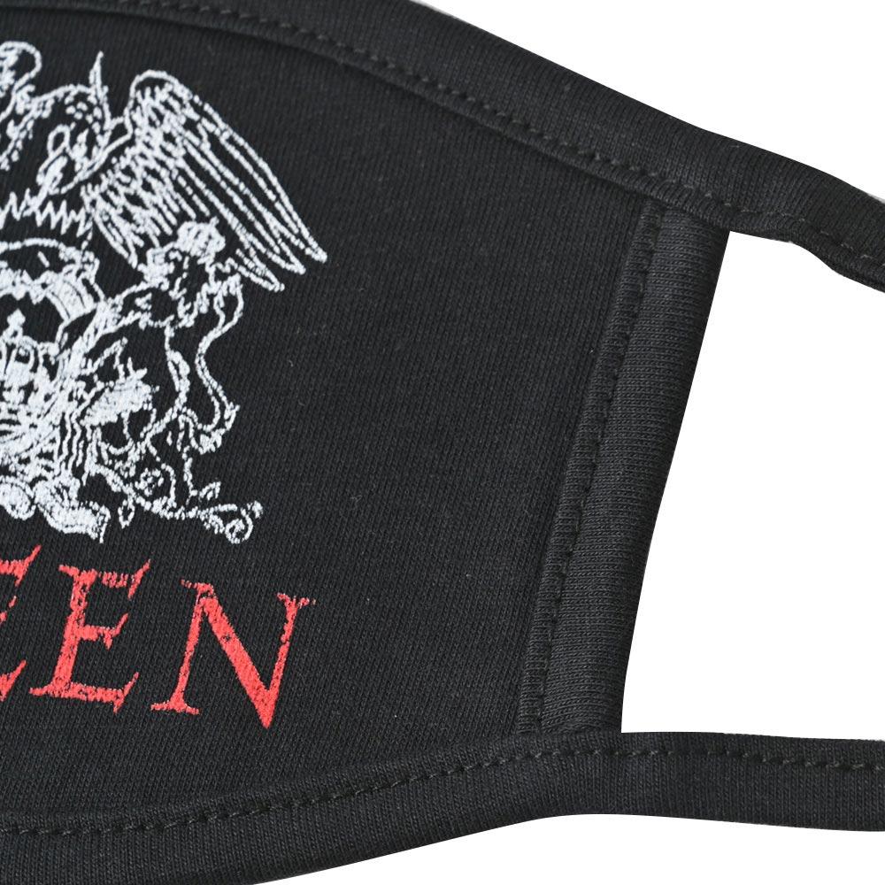 QUEEN クイーン (結成50周年 ) - Logo / ファッション・マスク 【公式 / オフィシャル】