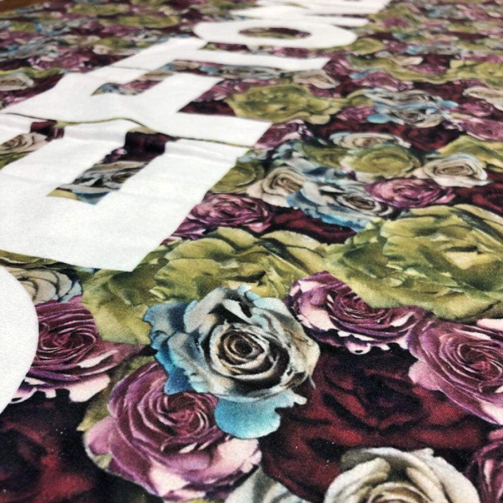 DEFTONES デフトーンズ - Multicolor Rose Bath Towel / タオル 【公式 / オフィシャル】