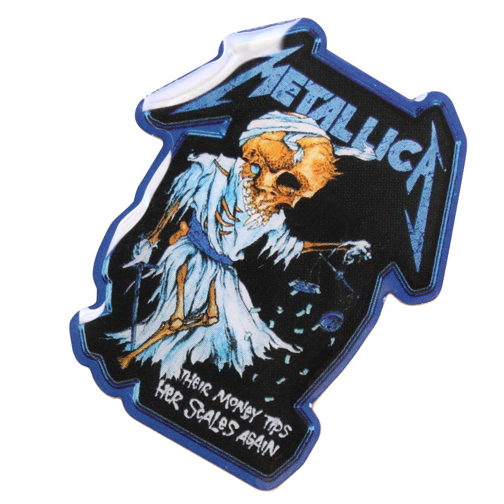 METALLICA メタリカ (結成40周年 ) - MET DORIS PIN / バッジ 【公式 / オフィシャル】