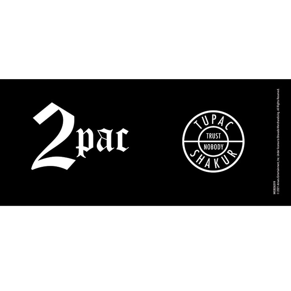 2PAC トゥパック (追悼25周年 ) - Trust Nobody / ブラック / マグカップ 【公式 / オフィシャル】
