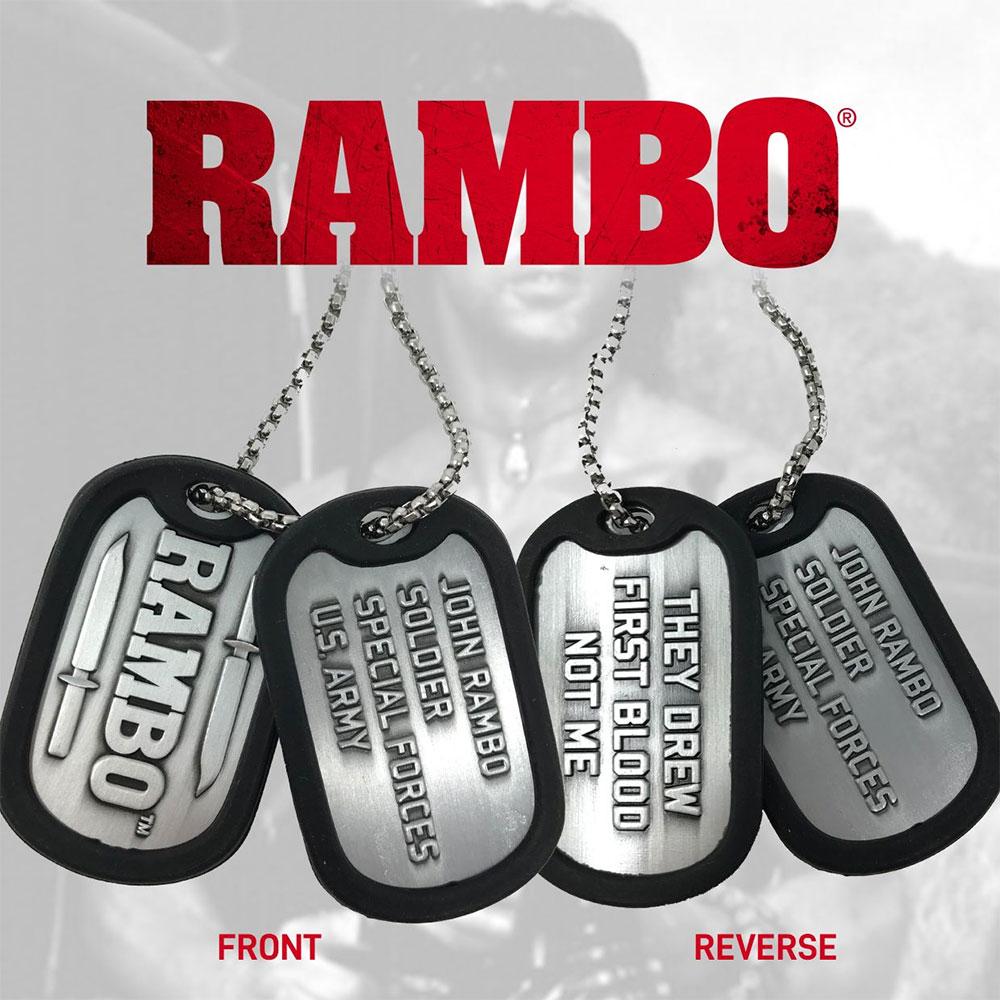 RAMBO ランボー - Dog Tags / ネックレス 【公式 / オフィシャル】