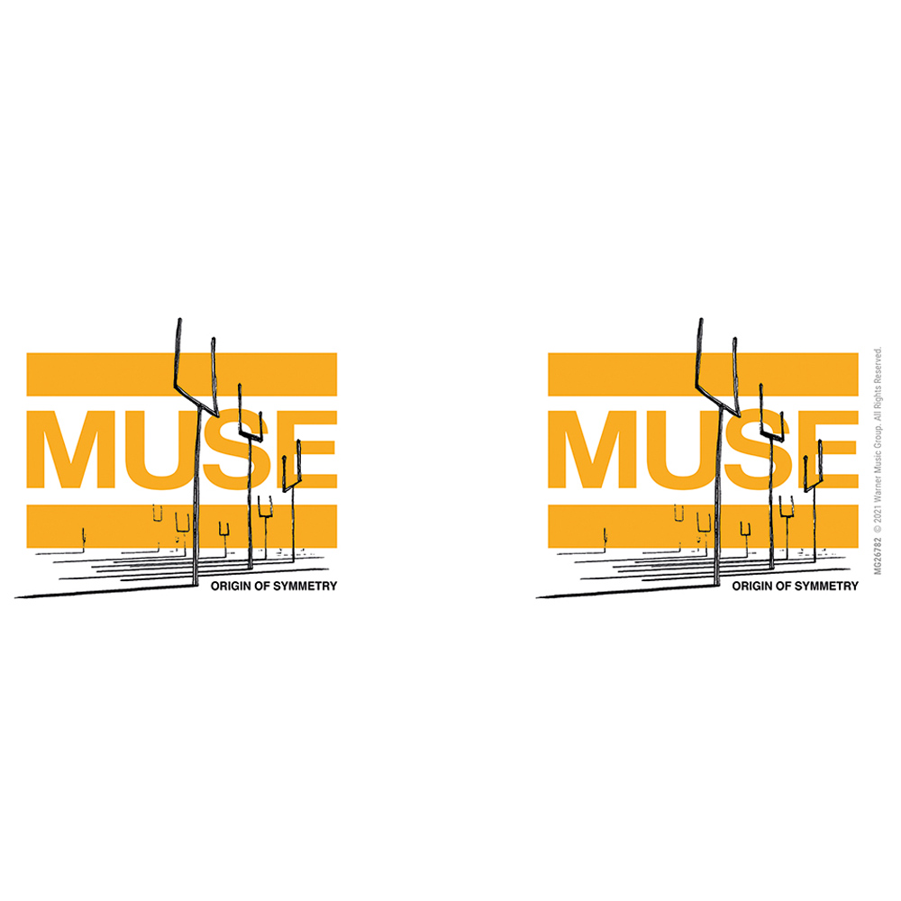 MUSE ミューズ - Origin of Symmetry / マグカップ 【公式 / オフィシャル】