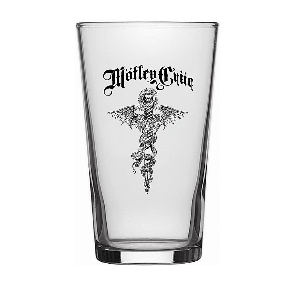 MOTLEY CRUE モトリークルー (結成40周年 ) - Dr Feelgood / Beer Glass / 食器・グラス 【公式 / オフィシャル】