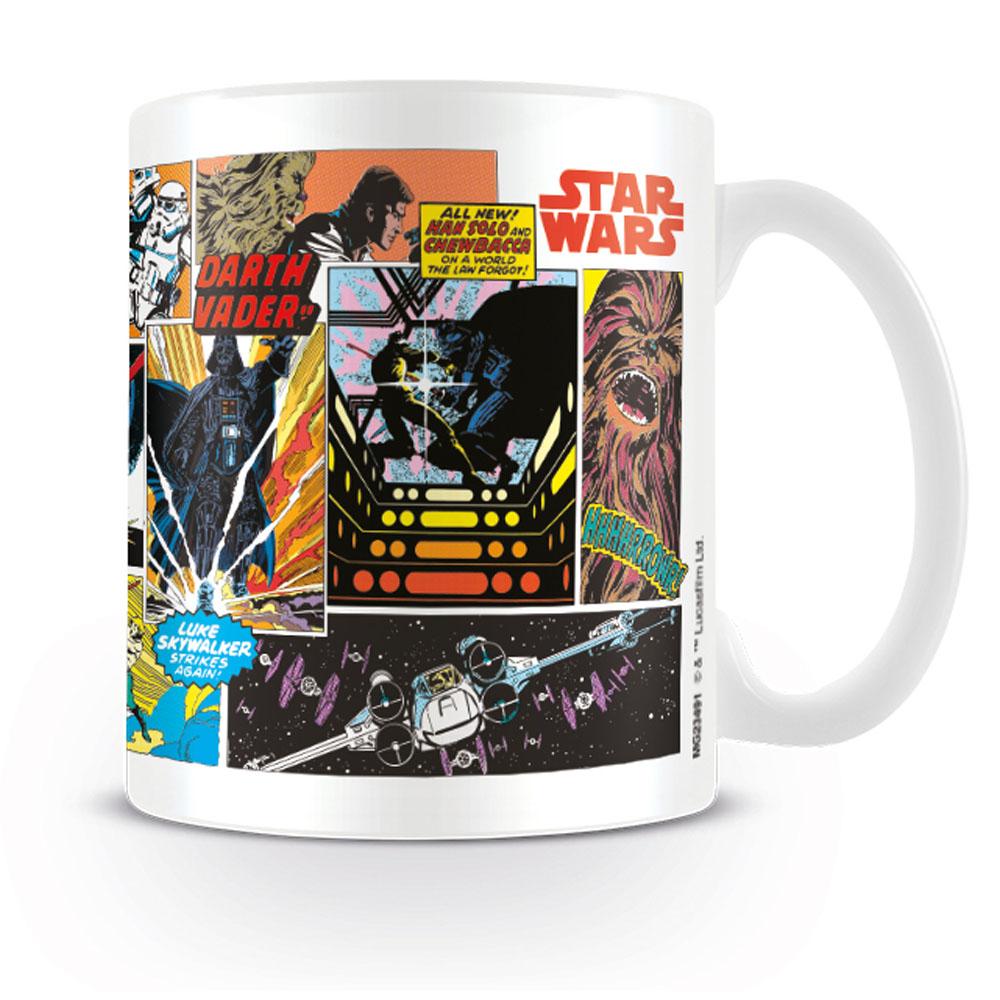 STAR WARS スターウォーズ - Comic Panels / マグカップ 【公式 / オフィシャル】