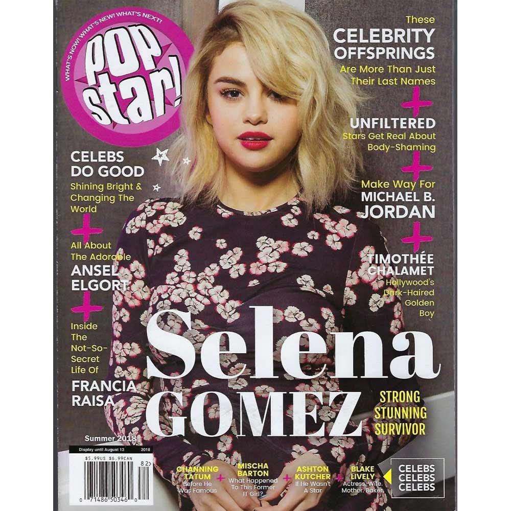 SELENA GOMEZ セレーナゴメス - POPSTAR MAGAZINE / 2018年夏号 / 雑誌・書籍