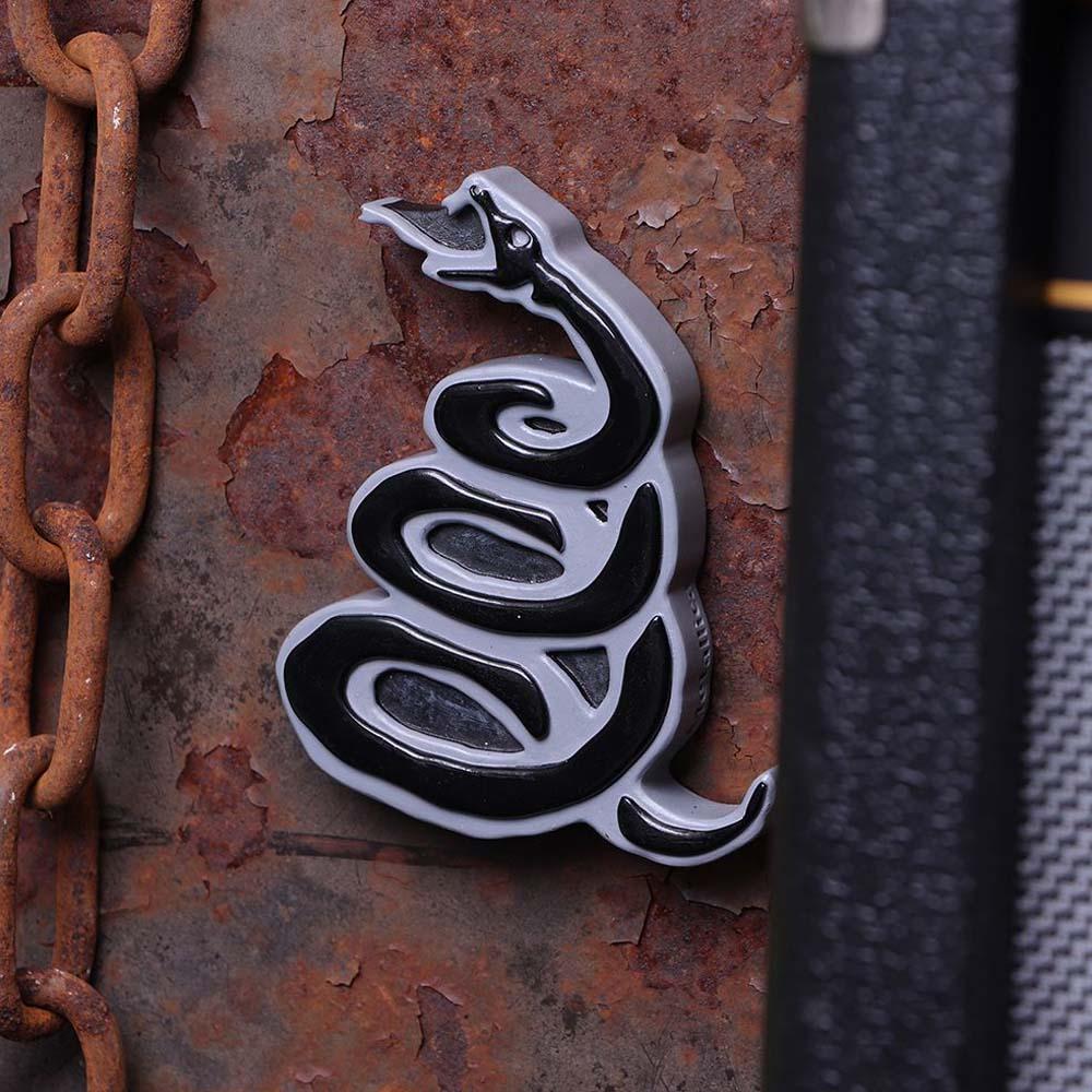 METALLICA メタリカ (結成40周年 ) - Black Album Snake Bottle Opener Fridge Magnet / マグネット 【公式 / オフィシャル】