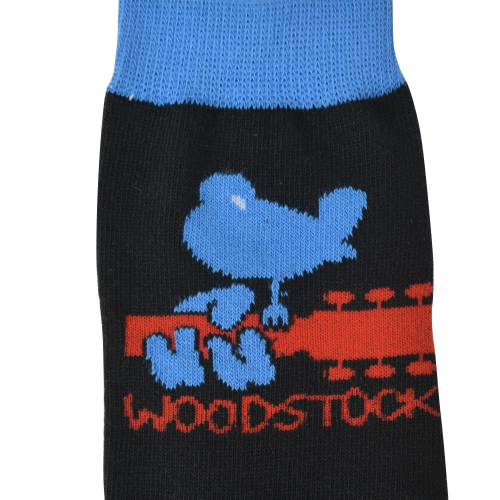 WOODSTOCK ウッドストック - Logo / ソックス / メンズ 【公式 / オフィシャル】