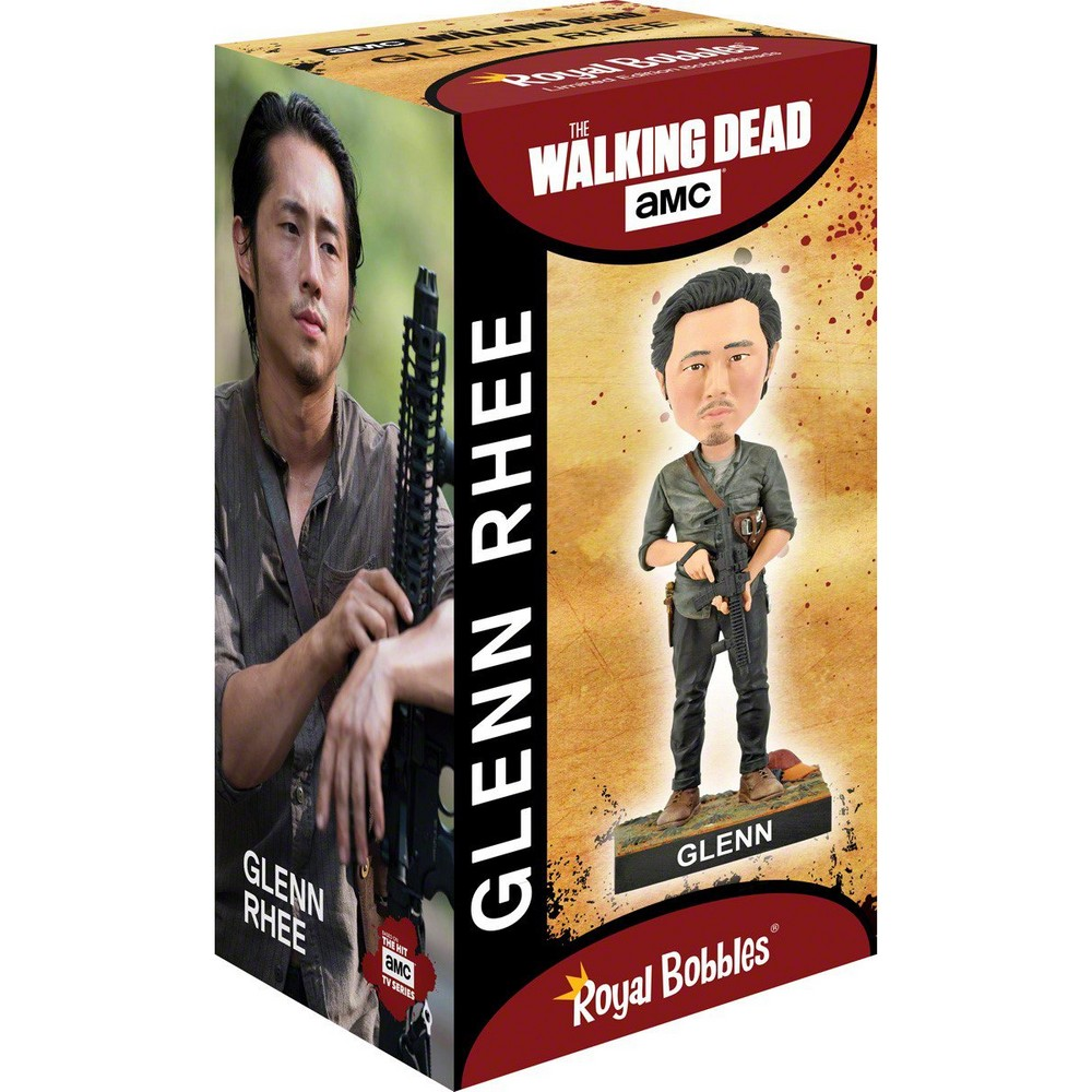 WALKING DEAD ウォーキングデッド (最終シーズン米8月放送 ) - Glenn Rhee Bobblehead / フィギュア・人形 【公式 / オフィシャル】