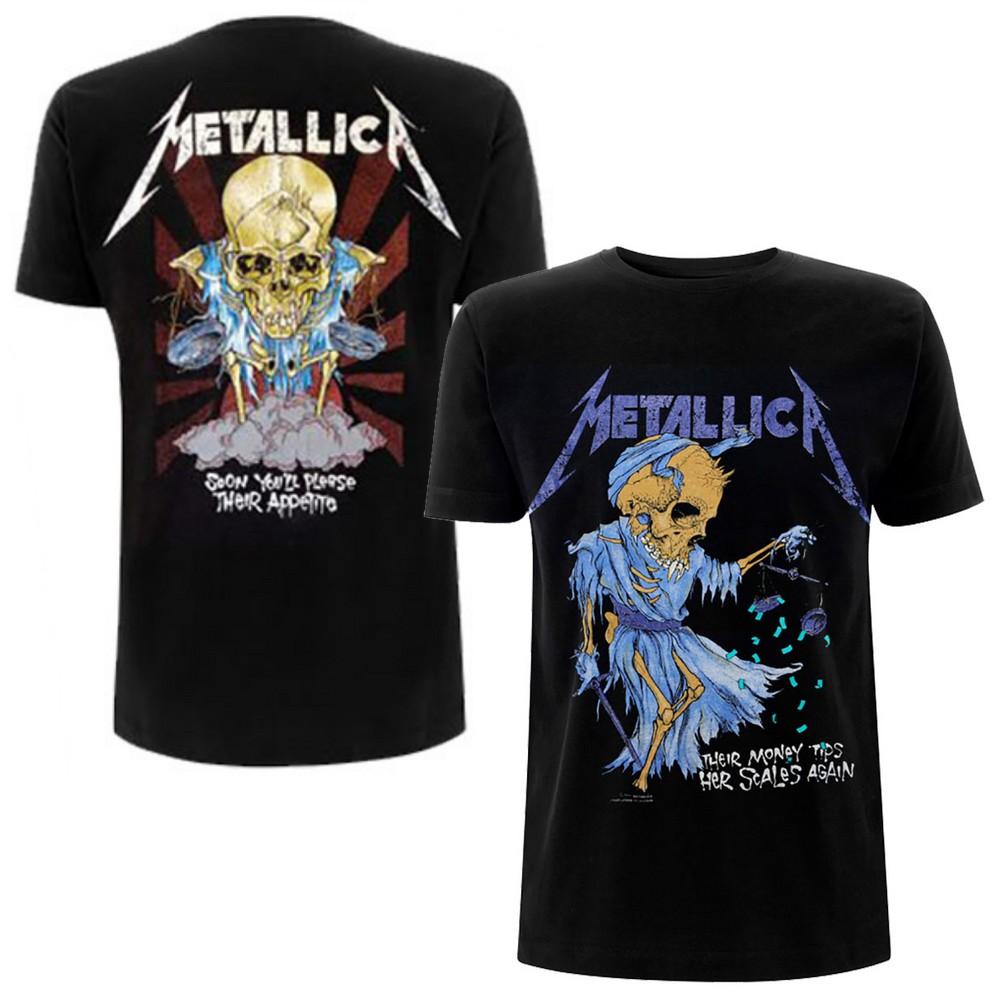 METALLICA メタリカ (結成40周年 ) - Doris / バックプリントあり / Tシャツ / メンズ 【公式 / オフィシャル】