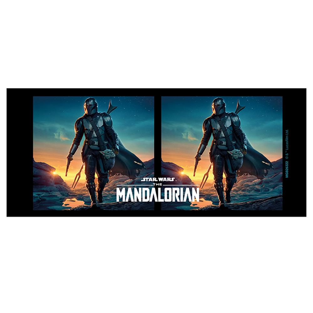 THE MANDALORIAN スターウォーズ - Nightfall / Black / マグカップ 【公式 / オフィシャル】