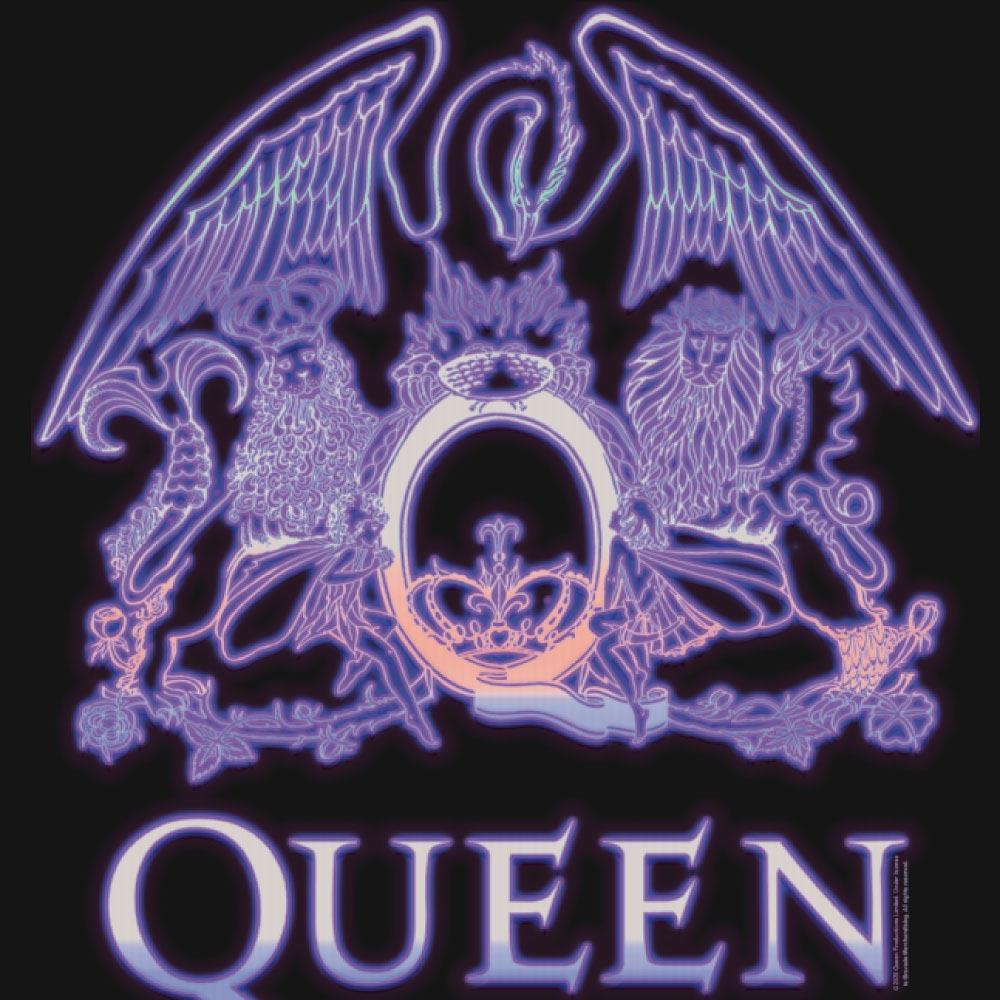 【予約商品】 QUEEN クイーン (フレディ追悼30周年 ) - NEON SIGN / Amplified( ブランド ) / スウェット・パーカー / メンズ 【公式 / オフィシャル】