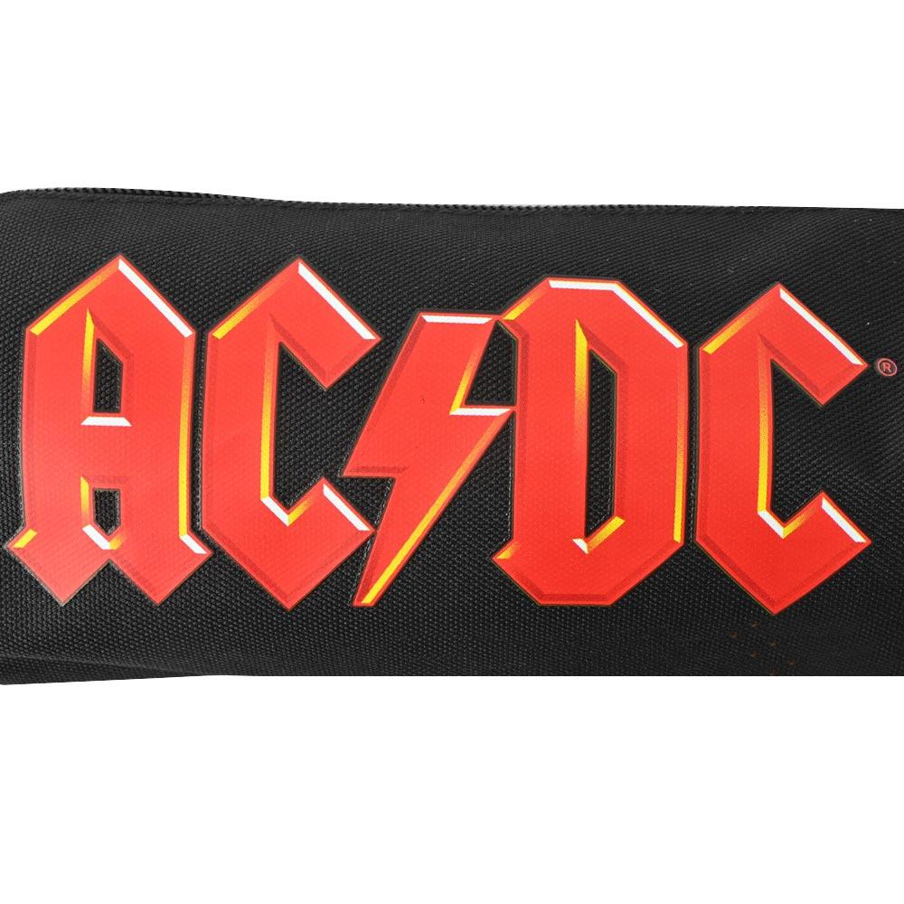 AC/DC エーシーディーシー (初来日40周年 ) - RED LOGO / ペンケース / 文房具 【公式 / オフィシャル】