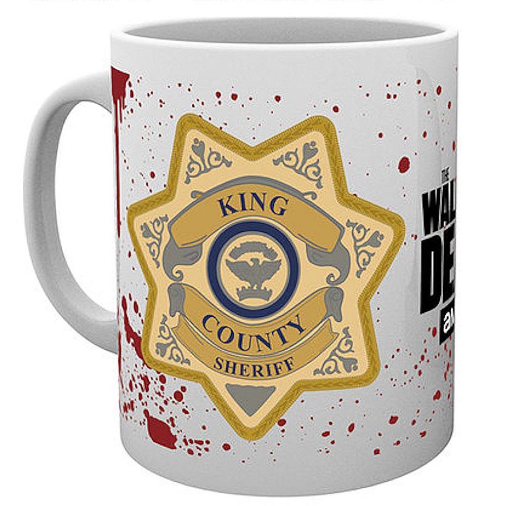 WALKING DEAD ウォーキングデッド (最終シーズン米8月放送 ) - Sheriff Badge / マグカップ 【公式 / オフィシャル】