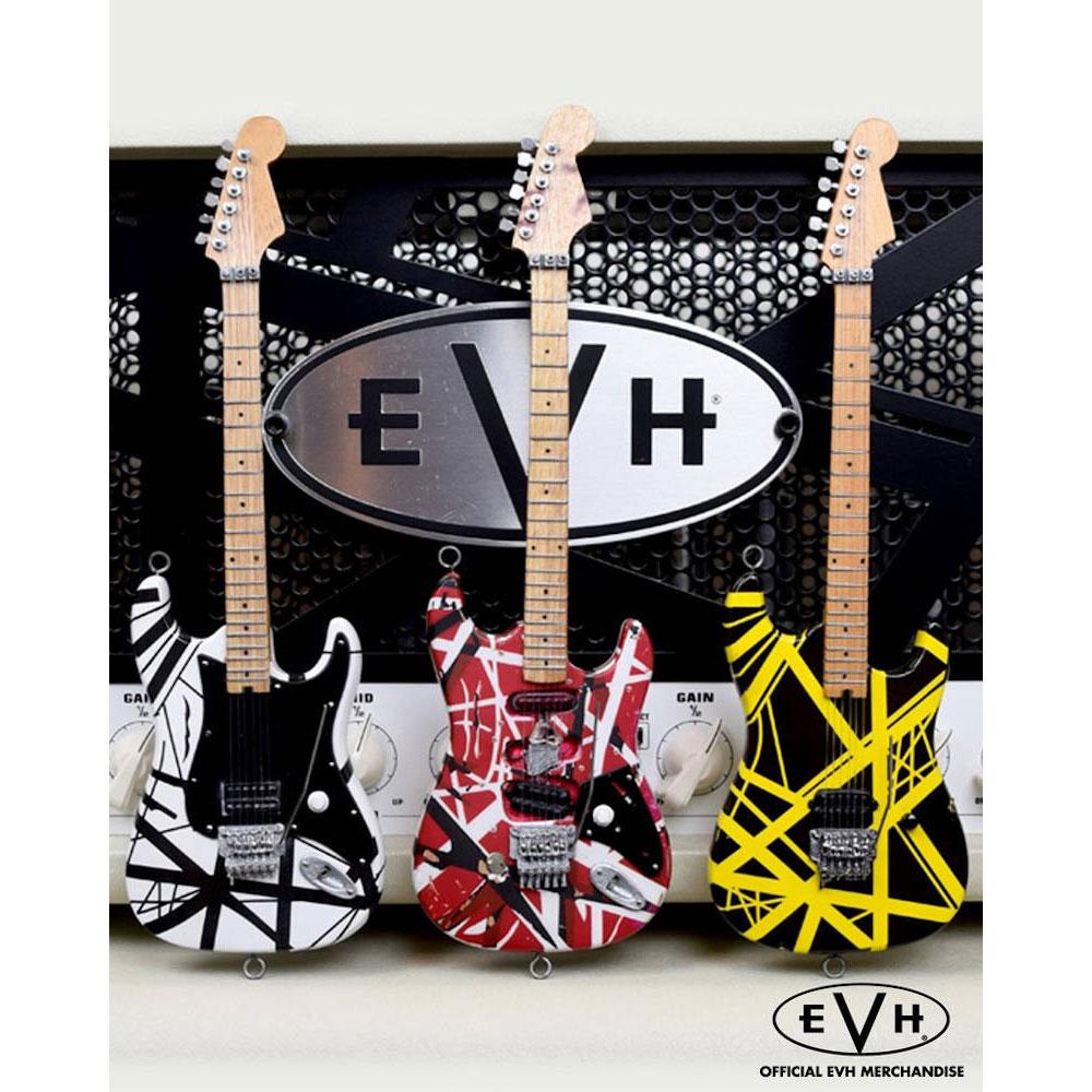 【予約商品】 EDDIE VAN HALEN ヴァンヘイレン (エディ 追悼 ) - EVH 3 Set / ミニチュア / ミニチュア楽器 【公式 / オフィシャル】