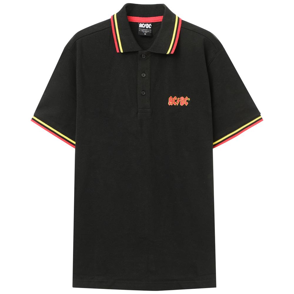 AC/DC エーシーディーシー (初来日40周年 ) - 【限定】Classic Logo / ポロシャツ / メンズ 【公式 / オフィシャル】