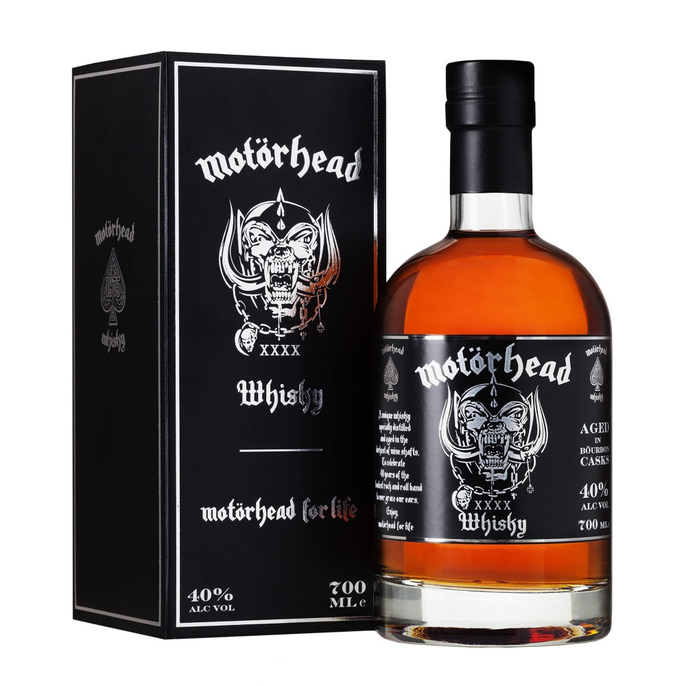 MOTORHEAD モーターヘッド - SINGLE MALT WHISKY 700ML / 洋酒