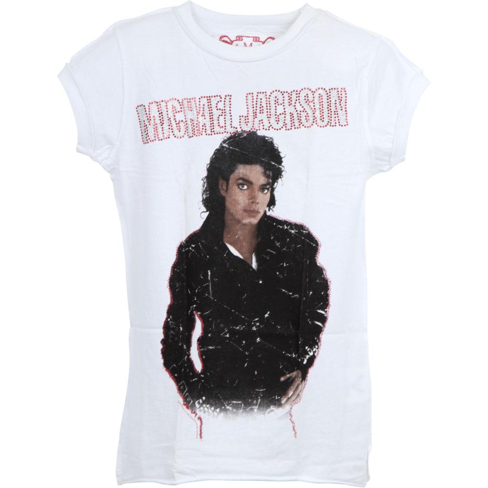 MICHAEL JACKSON マイケルジャクソン - BAD DIAMANTE / Amplified( ブランド ) / Tシャツ / レディース 【公式 / オフィシャル】
