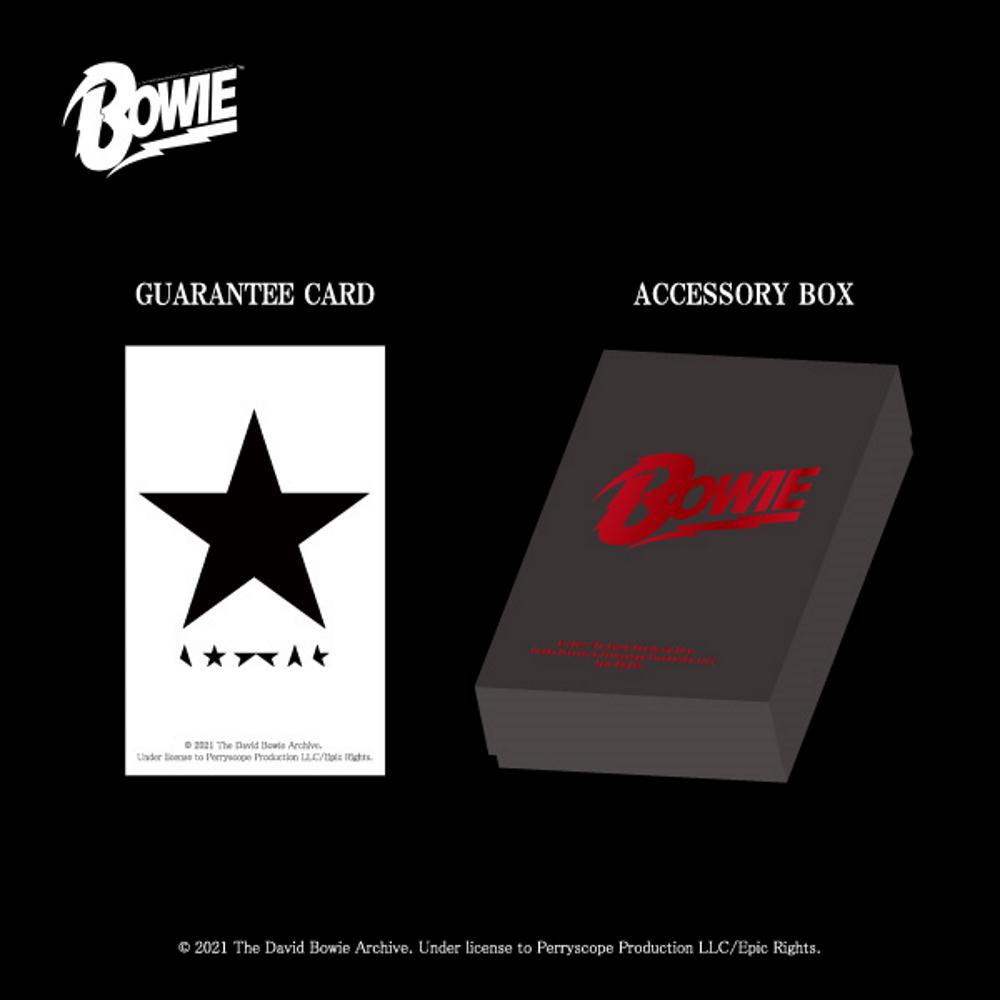 【予約商品】 DAVID BOWIE デヴィッド・ボウイ (追悼5周年 ) - BLACKSTAR ペンダント / 日本限定公式商品 / ネックレス 【公式 / オフィシャル】