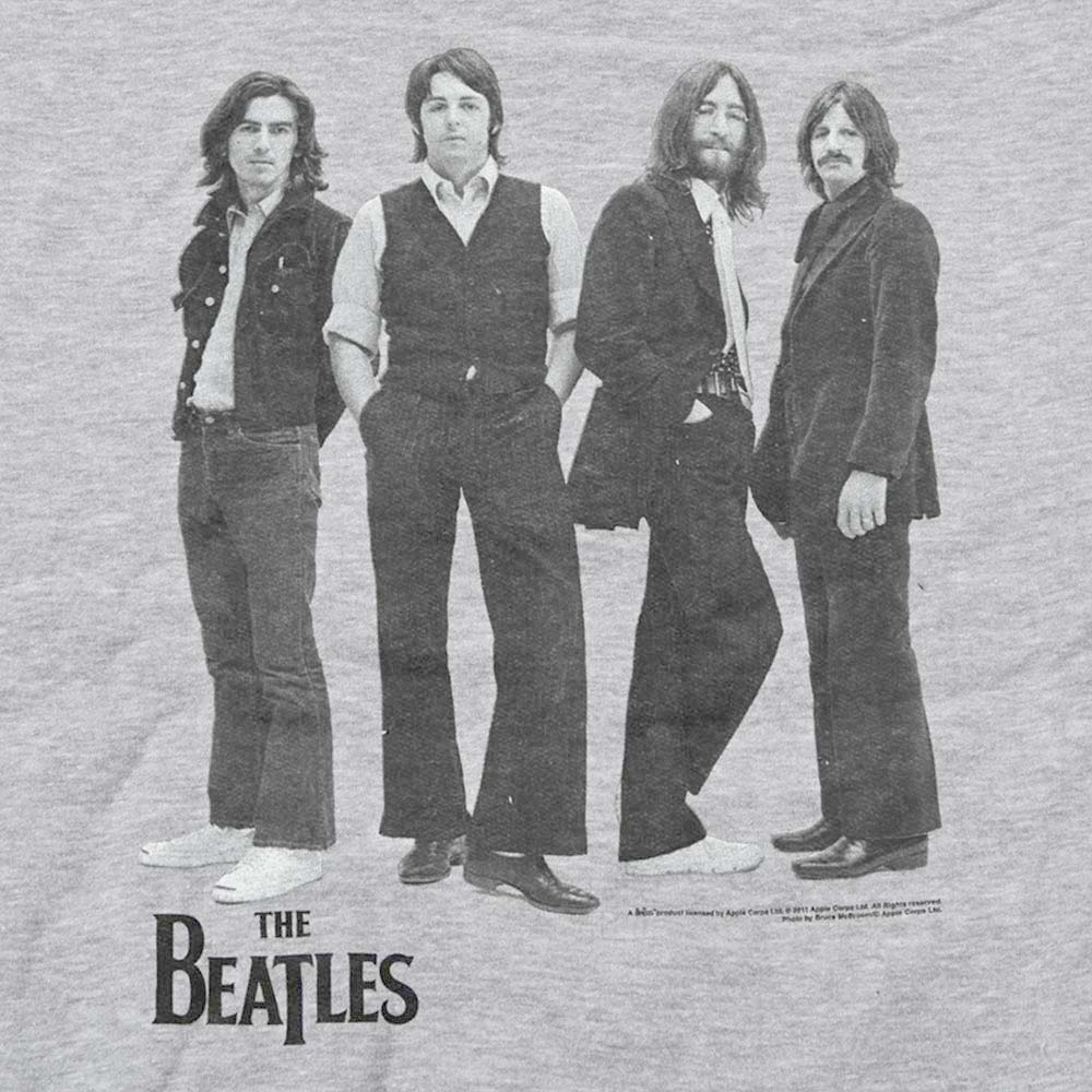 BEATLES ビートルズ (来日55周年記念 ) - WHITE ALBUM / ジップ / バックプリントあり / スウェット・パーカー / メンズ 【公式 / オフィシャル】